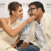 "Anurag Kashyap and Kalki Koechlin at the unveiling of ORRA platinum collection ""Duets"" in New Delhi"