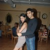 "Sayali Bhagat with Sandip Hooda of her upcoming film ""Ghost"" at Wild Wild West, Fun Republic"