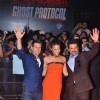 Tom Cruise, Paula Patton and Anil Kapoor at special screening of film Mission Impossible at IMAX