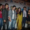 Ekta Kapoor with Hiten, Ankita at 'Pavitra Rishta' serial new cast introduction at Novotel, Mumbai