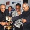 Minister of Energy Uganda Irene Nafuna Muloni with Finance Minister Pranab Mukherjee and Petrolileum