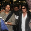 Shah Rukh Khan, Farhan Akhtar, John Abraham, Siddharth Mallya snapped at Mumbai International Airport
