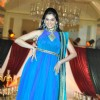 Smita Bansal walk the ramp for designer Nisha Sagar Bridal Collection