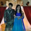 Gurmeet Choudhary and Debina walk the ramp for designer Nisha Sagar Bridal Collection