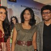 Neha Dhupia promote their film 'Pappu Can't Dance Saala' at Designer Riyaj Ganji Libas showroom