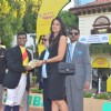 Sameera Reddy at Mahalaxmi Race Course for a Radio Mirchi event