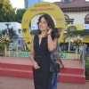 Actress Sameera Reddy at Mahalaxmi Race Course for a Radio Mirchi event.