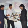 Sonu Nigam with Akshay Kumar at his music album launch at Andheri, Mumbai