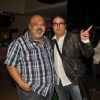 Saurabh Shukla with Vinay Pathak at Premiere of film 'Pappu Can't Dance Saala'