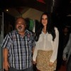 Saurabh Shukla with Neha Dhupia at Premiere of film 'Pappu Can't Dance Saala'