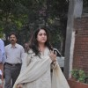 Tina Munim Ambani pays respect at Dev Anand's prayer meet
