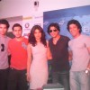 Shah Rukh Khan, Priyanka Chopra, Farhan Akhtar, Ritesh Sidhwani and Sahil Shroff at Oberoi Mall for Don 2's game launch