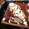 Chocolate cake was cut at Producer Raakesh Paswan bash