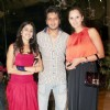 Genelia Dsouza, Ritesh Deshmukh and Sania Mirza at Farah Khan's House Warming Party