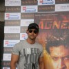 Hrithik Roshan gestures during the promo launch of film 'Agneepath' in Mumbai