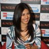 Priyanka Chopra gestures during the promo launch of film 'Agneepath' in Mumbai