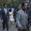 Abhishek Bachchan at Mid-Day Race in RWITC, Mahalaxmi
