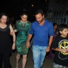 Kareena Kapoor and Saif Ali Khan at Midnight Mass in Mumbai