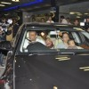Sanjay Dutt along with his wife Manyata and two kids snapped at Mumbai International Airport