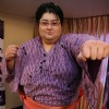 Japanese Sumo Wrestling Champion Yamamotoyama leaving for BIGG BOSS Season 5 house from his Hotel in Juhu, Mumbai
