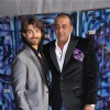 Neil Nitin Mukesh and Sanjay Dutt on the sets of Bigg Boss Season 5