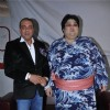 Sanjay Dutt with Yamamotoya Ryūta on the sets of Bigg Boss Season 5