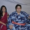 Yamamotoya Ryūta with Shonali Nagrani on the sets of Bigg Boss Season 5