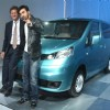 Ranbir Kapoor at the launch of Nissan Evalia, at Auto Expo 2012 in New Delhi