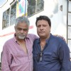 Sanjay Mishra and Tigmanshu Dhulia on the set of