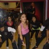 Aarti Chabbria practicing dance steps for New Year's bash at Andheri. .