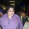 Sumo wrestler Yamamotayama at airport before entering Big Boss house.  .