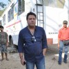 "Tigmanshu Dhulia on the set of ""Pranam Walekum"" in Mumbai"