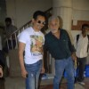 "Naseeruddin Shah with Atul Kulkarni of ""Chaalis Chaurasi"" at Radio Mirchi in Parel"