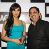 Sonal Chauhan with Harish Moolchandani, CEO of Beam India at the launch of Teacher's CAN DO