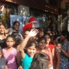 Shiney Ahuja turns Santa at Andheri