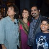Shankar Mahadevan with Zakir Hussain, Antonia &his son grace live �King in Concert� in Mumbai