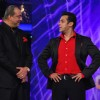 Salman Khan and Sanjay Dutt at Grand Finale of Bigg Boss Season 5