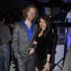 Shama Sikander with Alex O Neil grace Dabboo Ratnani Calendar launch
