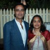 Producer Sumeet and Sashi Mittal at 100th episode success party of tvshow 'Diya Aur Baati Hum'