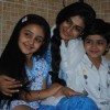 Mrs Megha Vyas with her kids in Na Bole Tum Na Maine Kuch Kaha