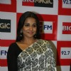 Vidya Balan launches new jingle of Big 92.7 FM at Andheri in Mumbai
