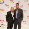 "Rahul Bose and Mahesh Bhupati pose as part of the Colgate total campaigning for ""Healthy Mouth"""