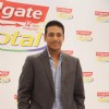 "Tennis champion Mahesh Bhupati pose as part of the Colgate total campaigning for ""Healthy Mouth"""