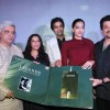 Anil Kapoor, Sonam Kapoor, Javed Akhtar at launch of music album 'LEGENDS - KAIFI AZMI' by Saregama music at Hotel Novotel in Juhu, Mumbai