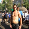 Siddharth Mallya at Standard Chartered Mumbai Marathon 2012 in Mumbai