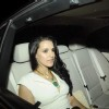 Neha Dhupia at Parmeshwar Godrej's party for Hollywood talk show host Oprah Winfrey in Mumbai