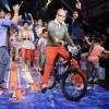 Kids walk on the ramp for Hotwheels designed by Narendra Kumar at India Kids Fashion Week in Mumbai