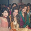 Bhagyashree, Sheeba Akashdeep at Deepshikha's Mata Ki Chowki at Blue Waters