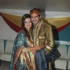 Deepshikha with Kaishav Arora at her Mata Ki Chowki at Blue Waters
