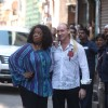 Oprah Winfrey with Gregory David Roberts shoots for her upcoming series 'Oprah's next Chapter'